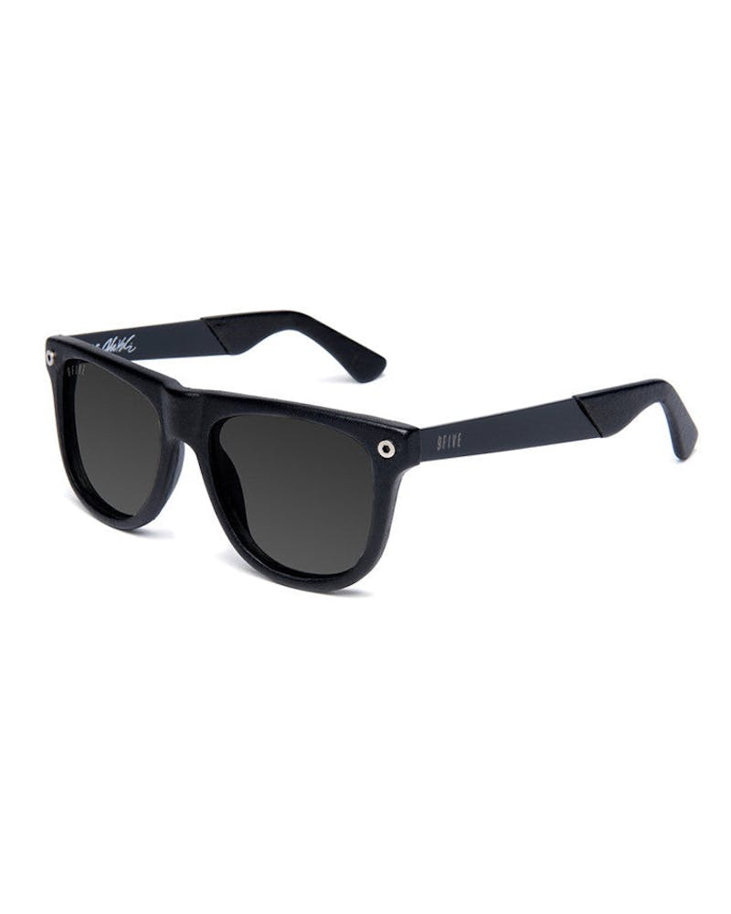 Kls2 Glasses Leather Black/black