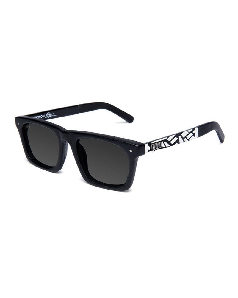 Watson Glasses Mosaic Black/white/bla