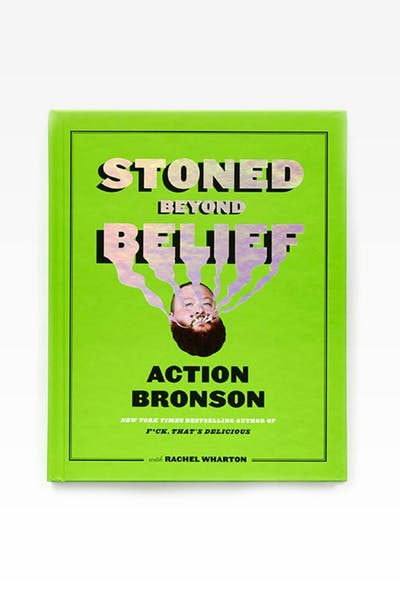 STONED BEYOND BELIEF (HARDCOVER) BY ACTION BRONSON