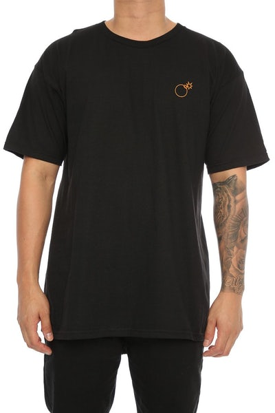 The Hundreds Slant Box Tee Black