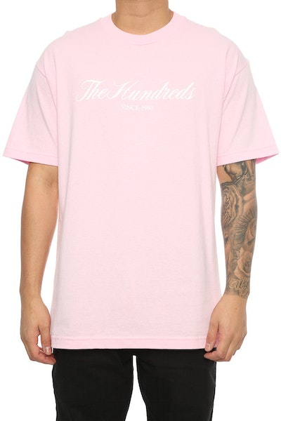 The Hundreds Rich 80 Tee Pink