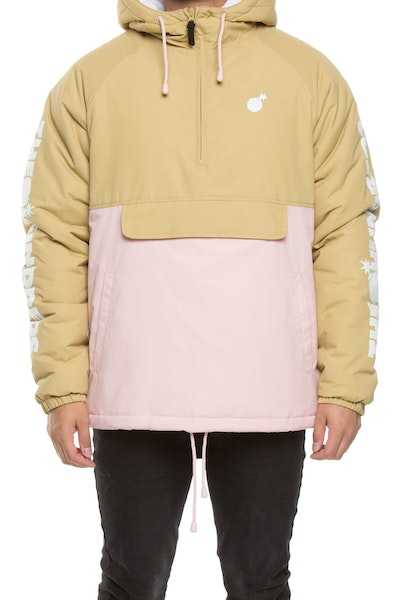 The Hundreds Dell 2 Puffer Jacket Khaki