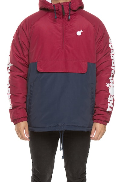 The Hundreds Dell 2 Puffer Jacket Burgundy