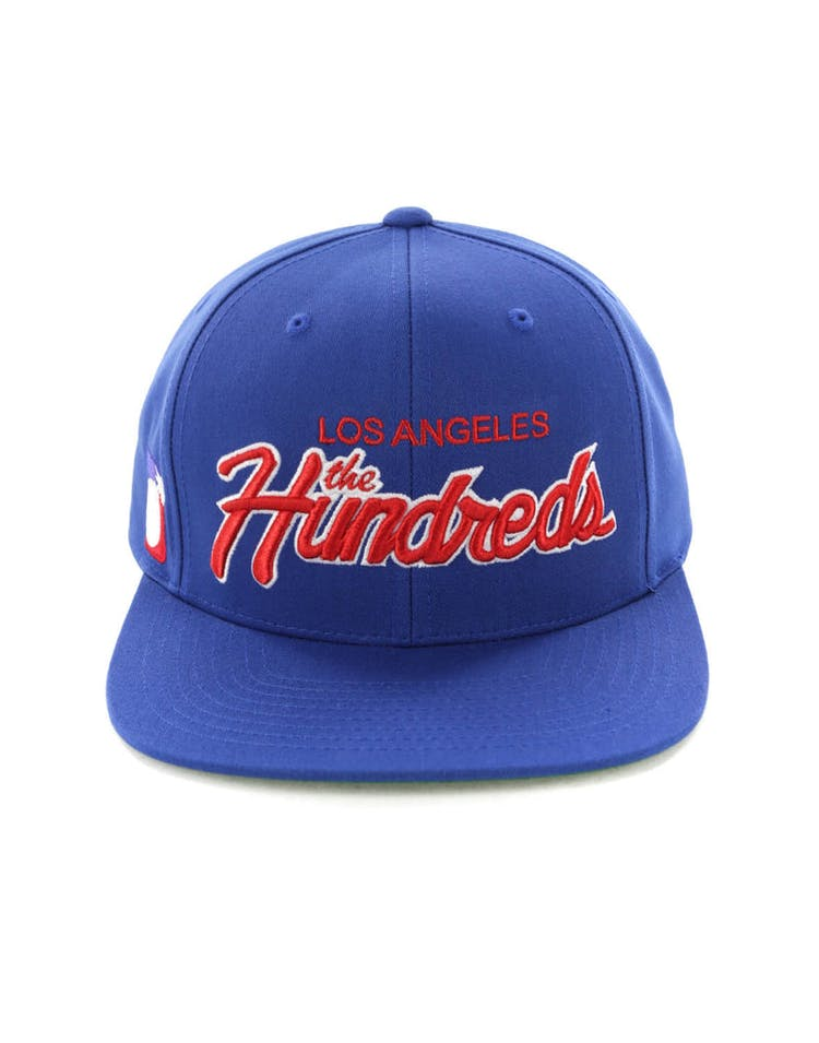98cc0d106 The Hundreds Team Two Snapback Blue