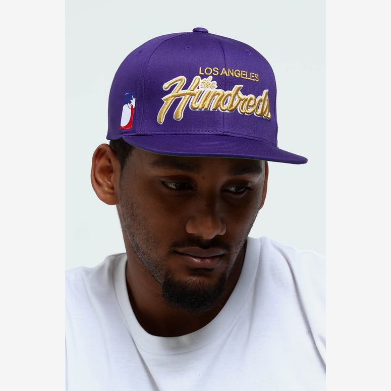 The Hundreds Team Two Snapback Light Purple