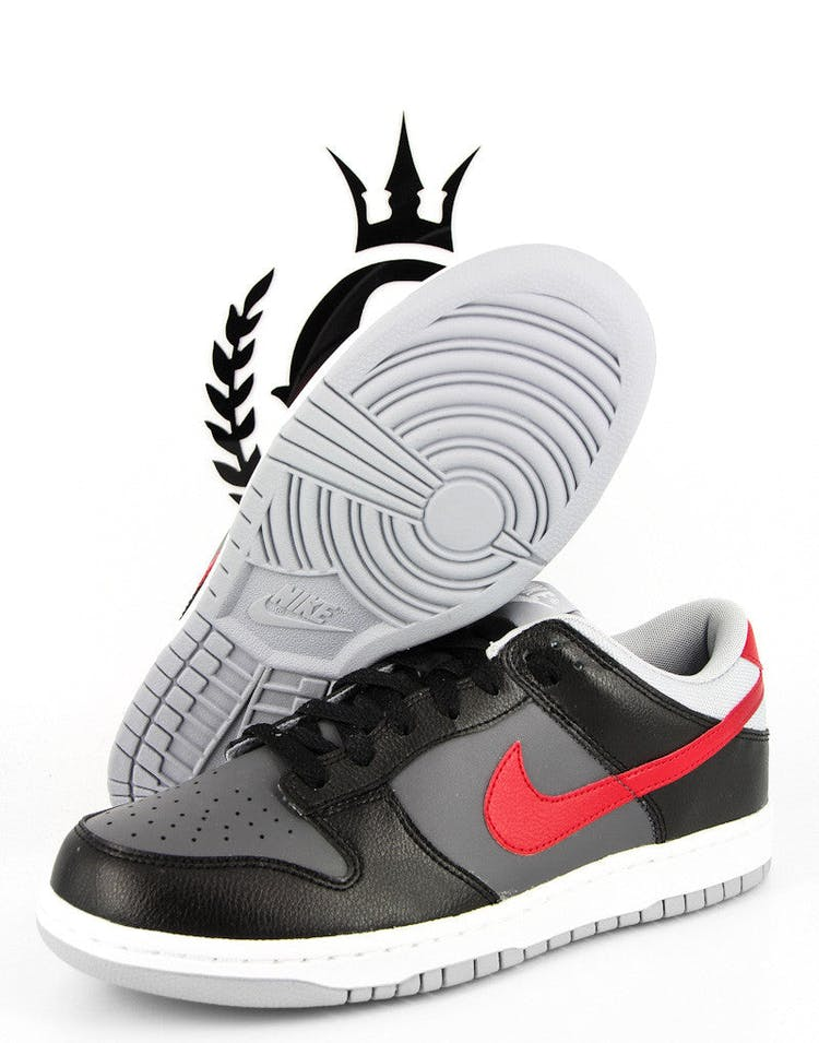 Nike Dunk Low Grey/red/black