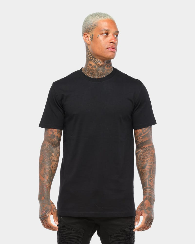 AS Colour Plain Staple T Black