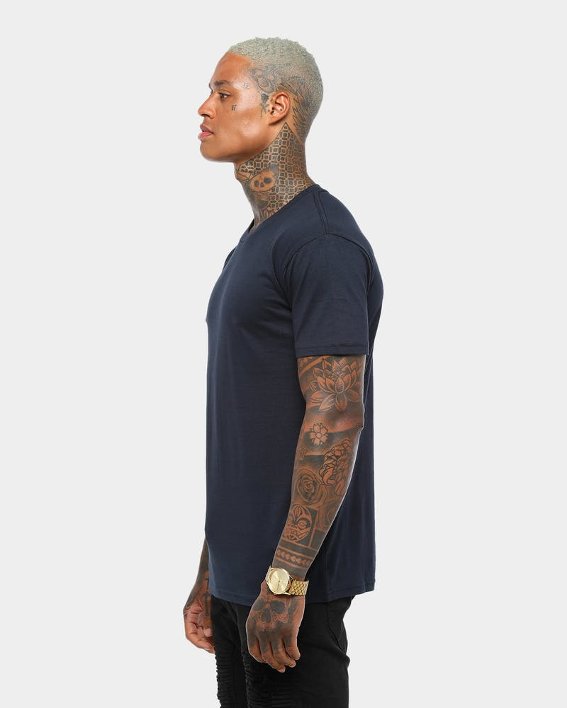 AS Colour Plain Staple T Navy
