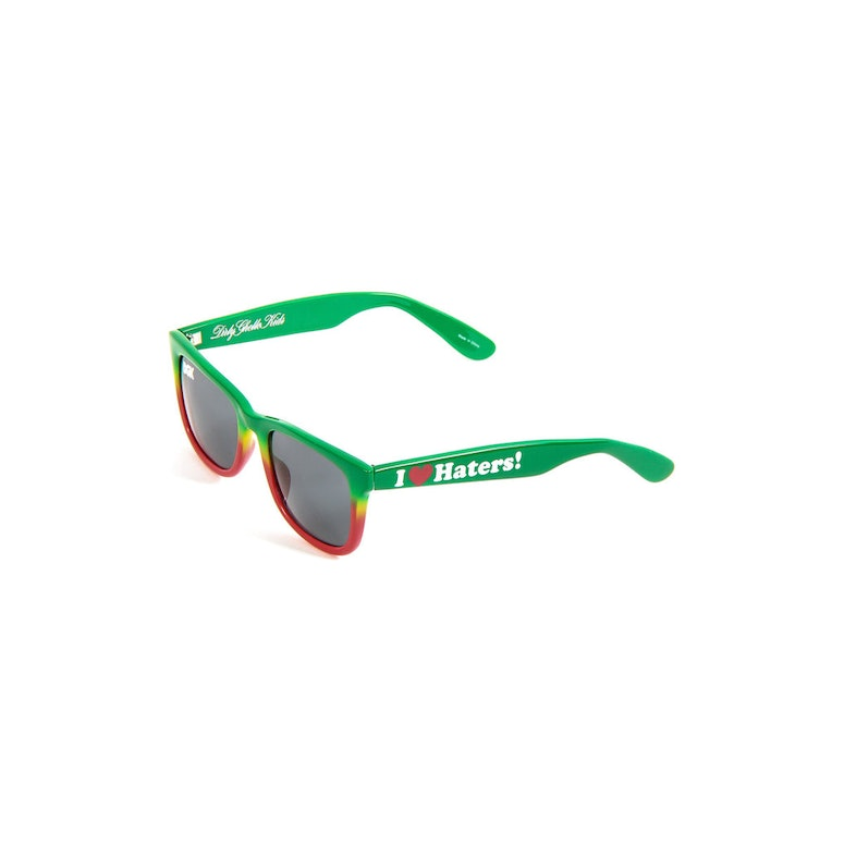 Haters Sunglasses Green/yellow/re
