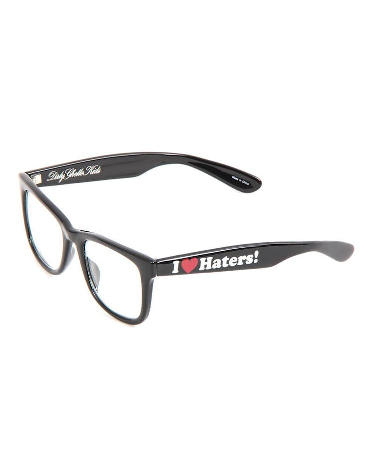 Haters Sunglasses Black/clear