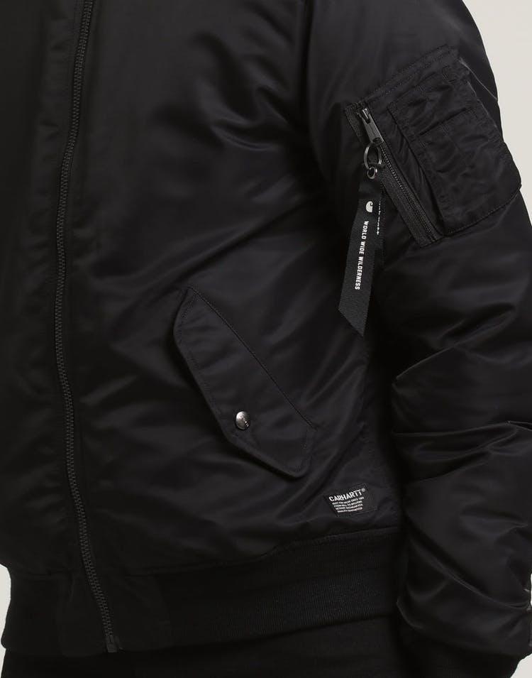3974c7da7 Ashton Bomber Jacket Black