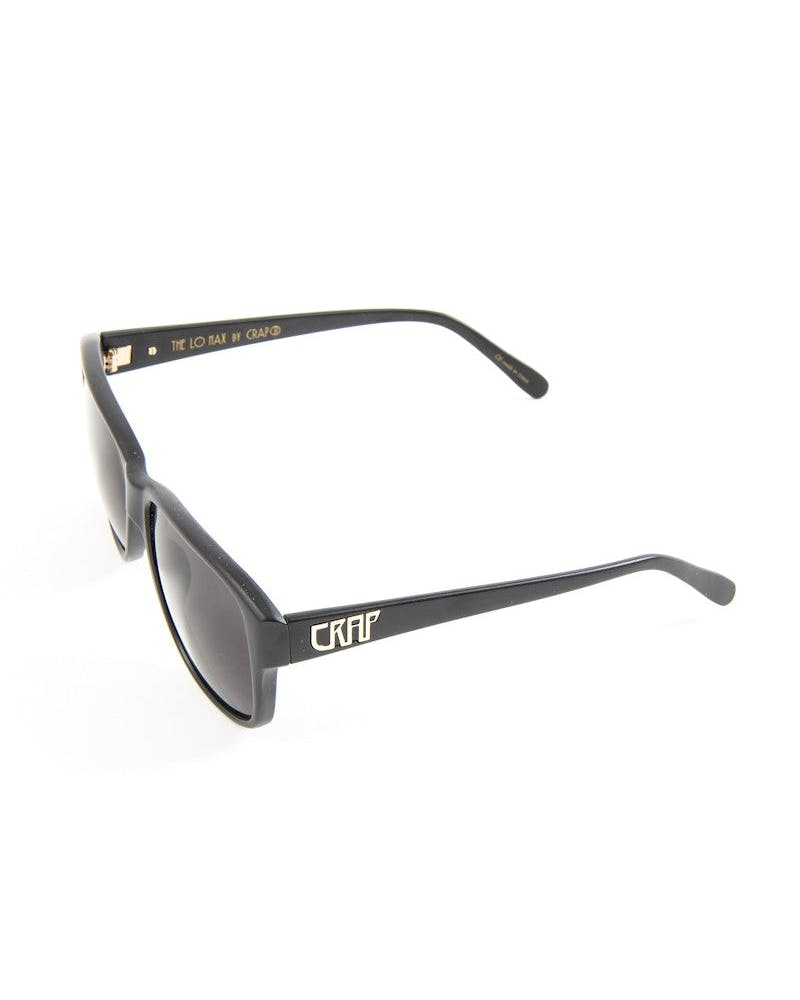 Crap LO Max Sunglasses Black/grey