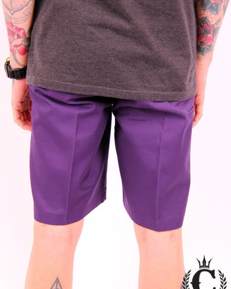 Loose Fit Shorts Purple