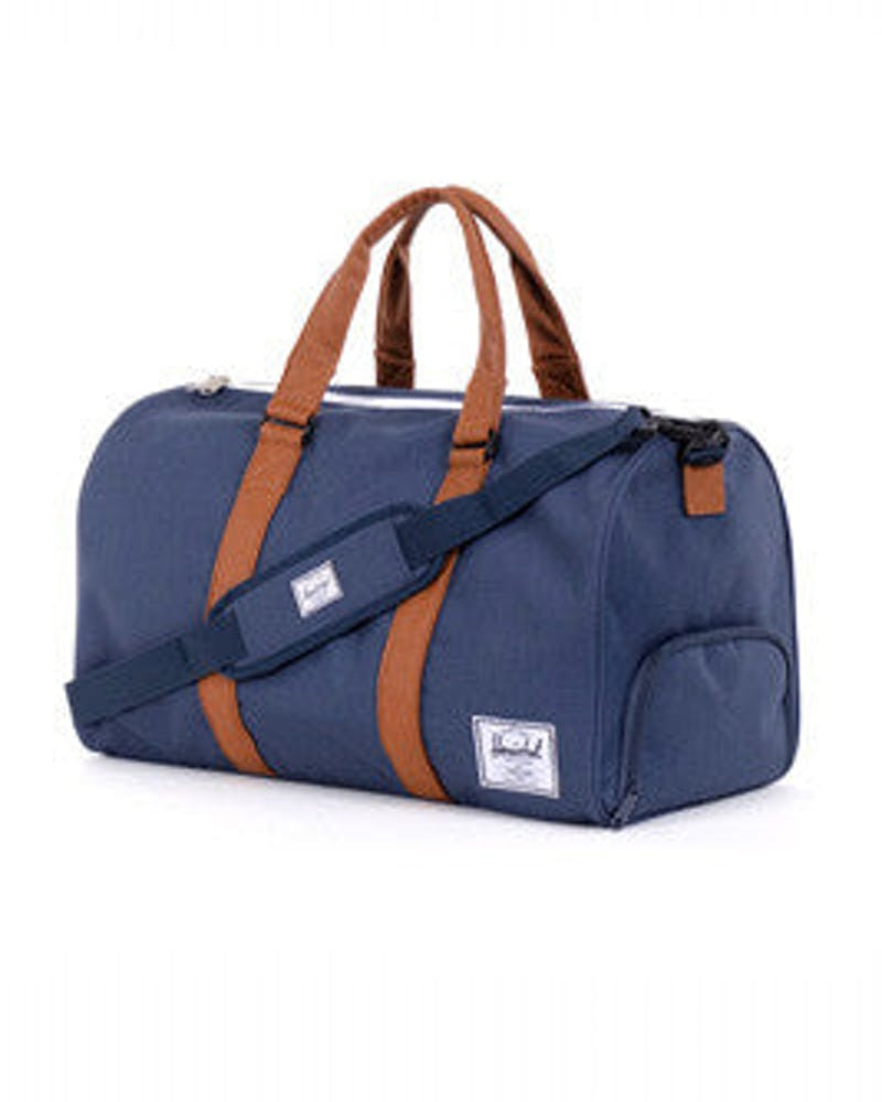 Hersch Bag CO Novel Bag Navy/tan