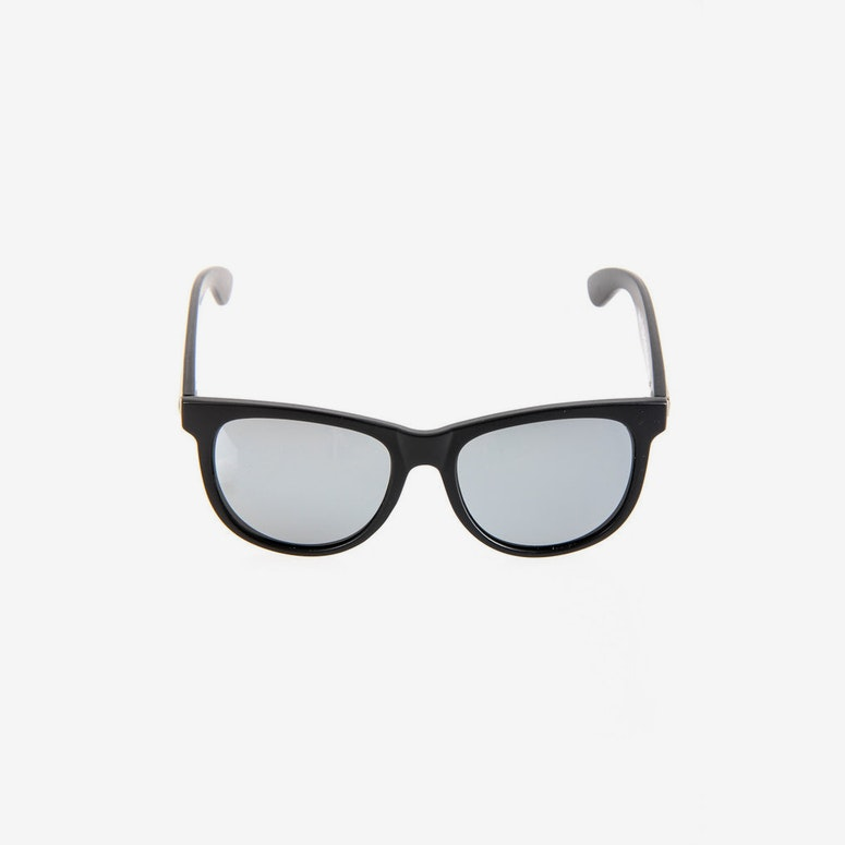 Nudie Mag Sunglasses Black/silver