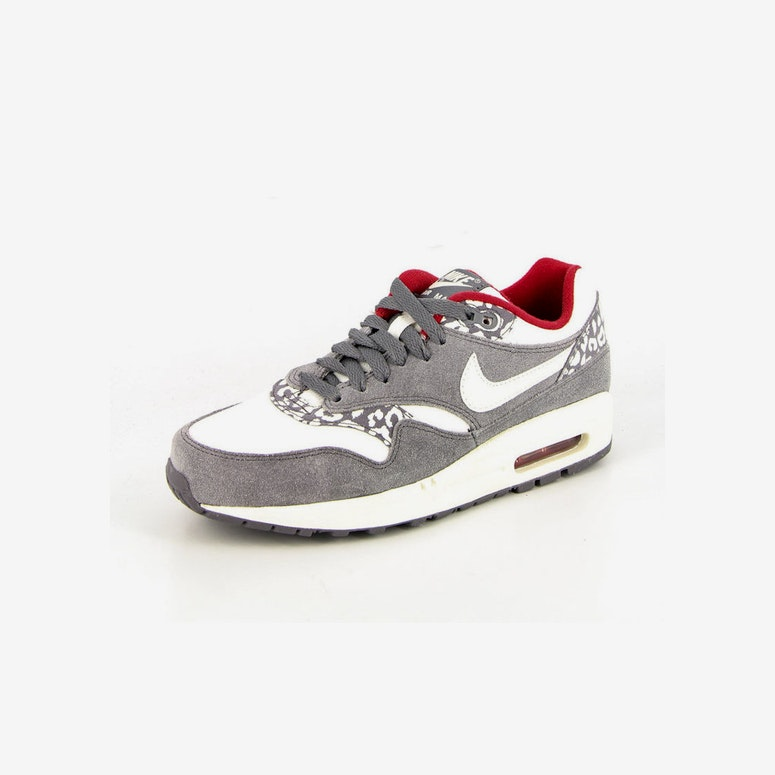 Womens Airmax 1 Charcoal/silver