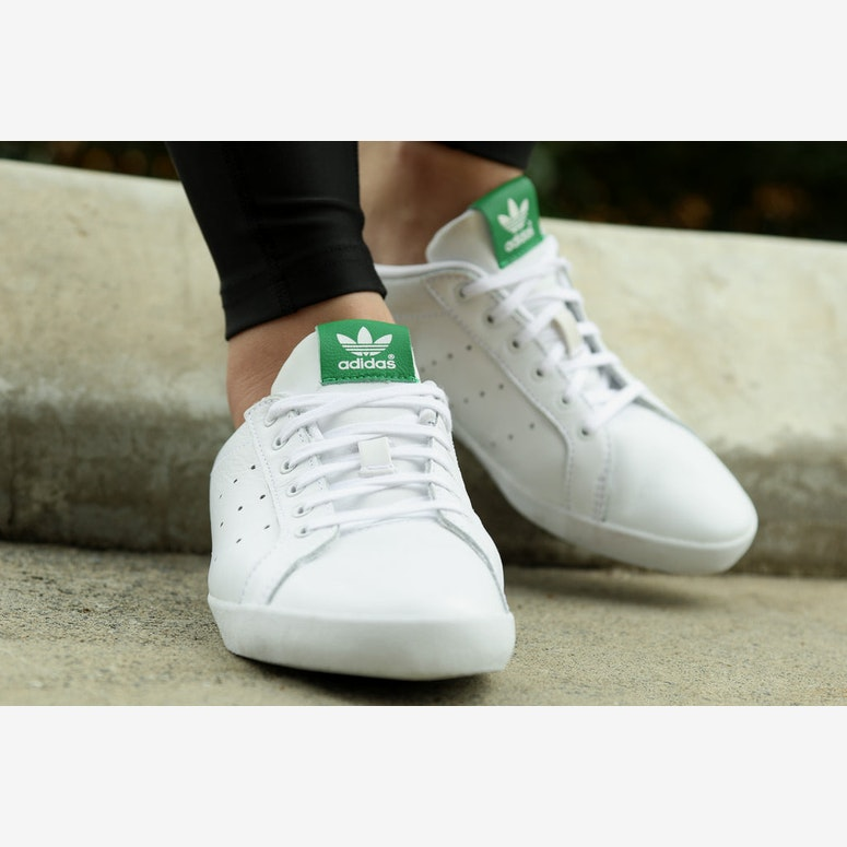 Womens Miss Stan Smith White/green