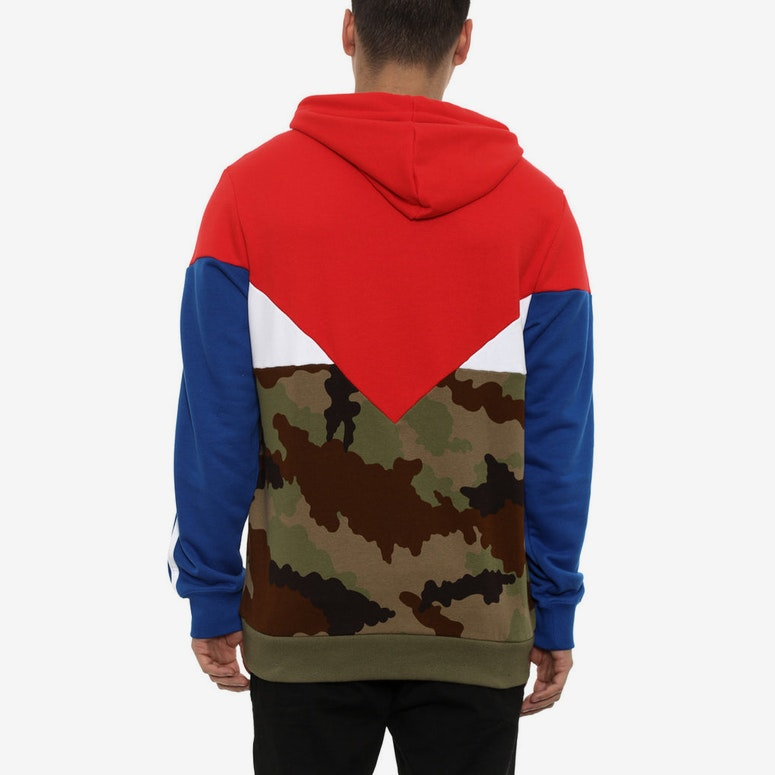 ES Oth Hoody Red/camo/royal
