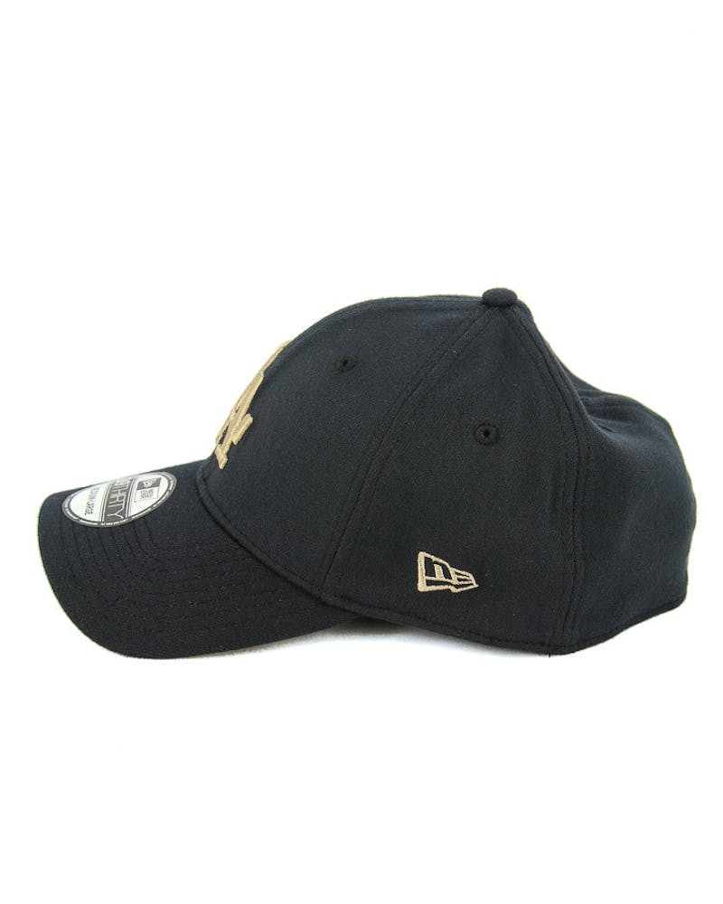 Dodgers 3930 Fashion Fitted Navy/brown