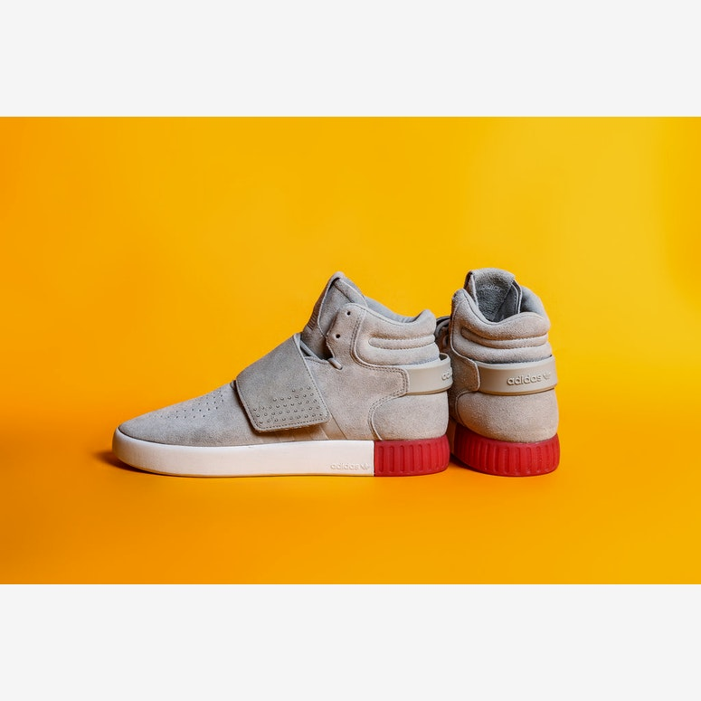 Tubular Invader Str Grey/white/red