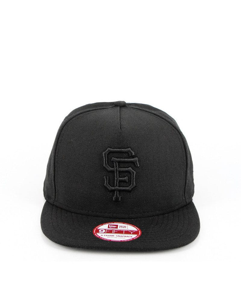 New Era San Francisco Giants CK 940 A-Frame Snapback Black/black
