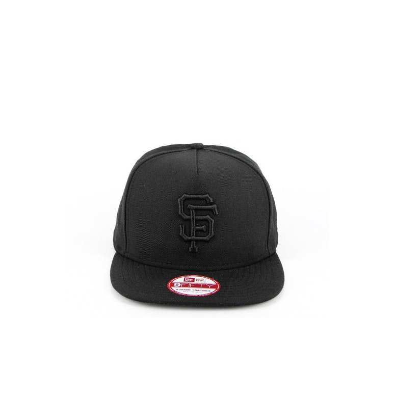 San Francisco Giants A-frame Snapback Black/black