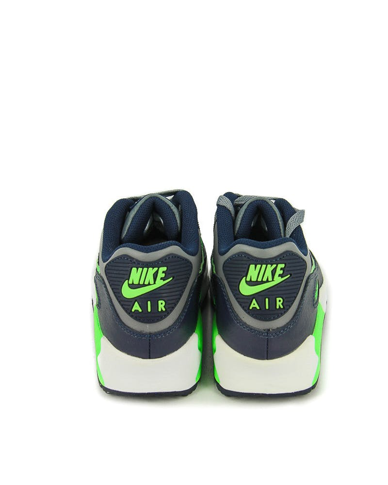 Air Max 90 Ltr (gs) Grey/green/navy