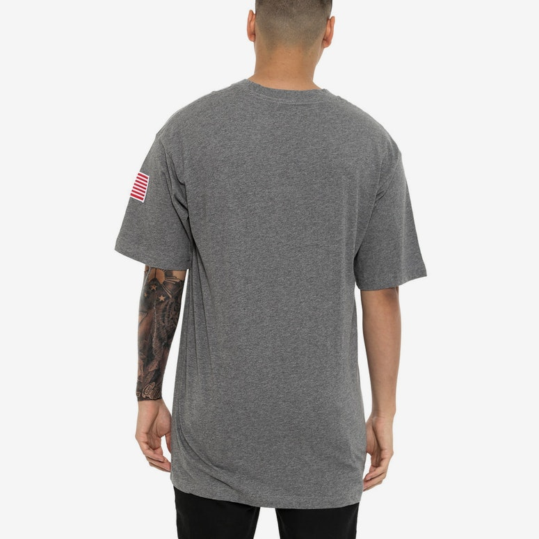 Bubble Logo Tee Grey