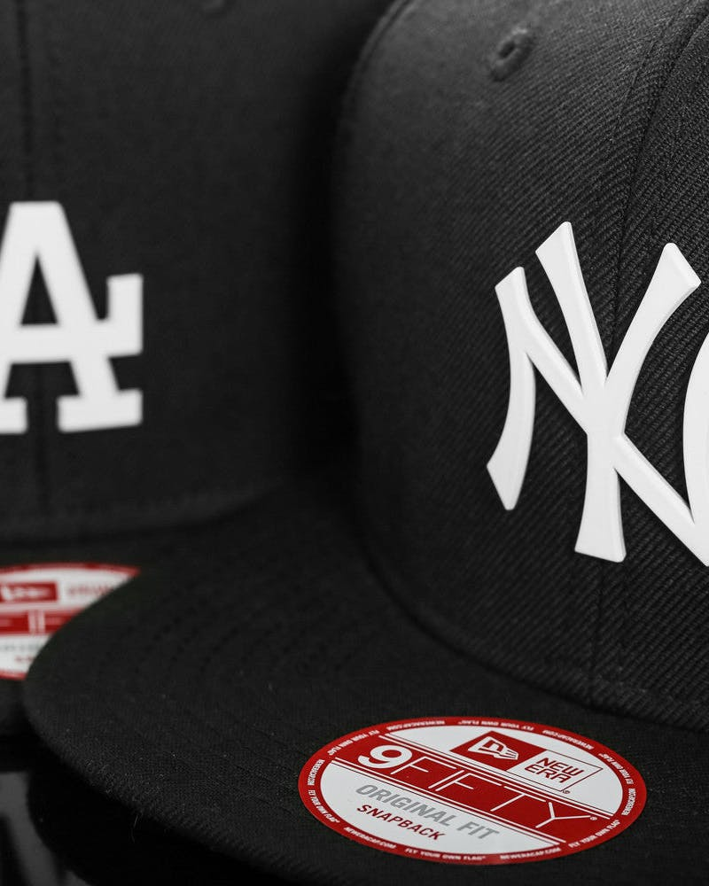 Dodgers Orig.fit Metal Snapback Black/white