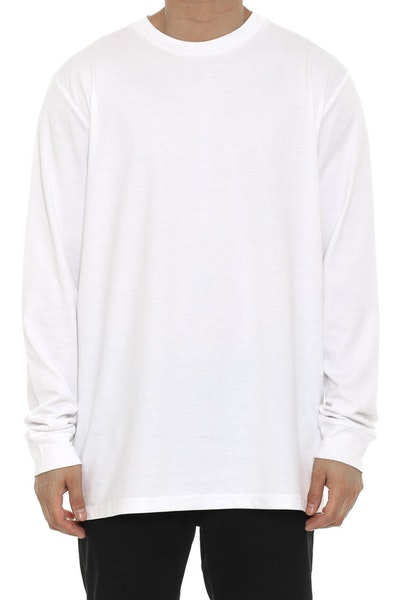AS Base Long Sleeve White