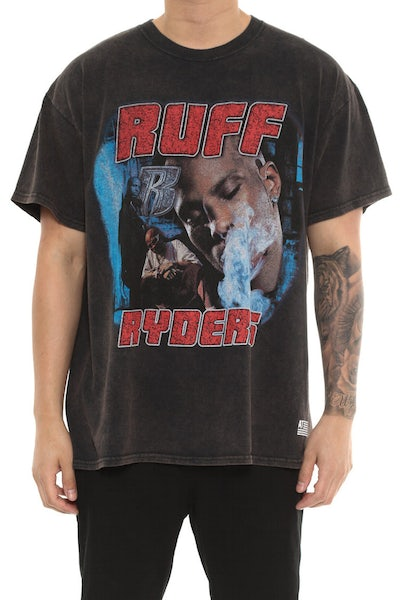 American Thrift Ruff Ryders Tee Black