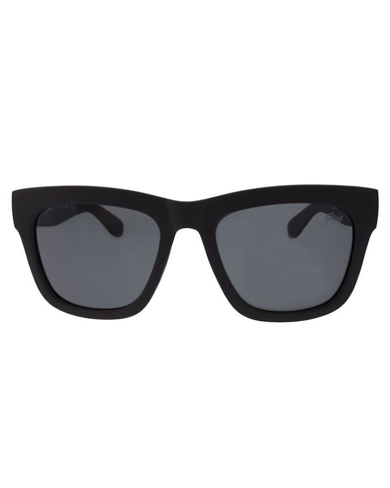 Avery Sunglasses Black/red