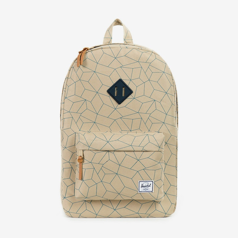 Heritage W Rubber Finish Khaki/navy