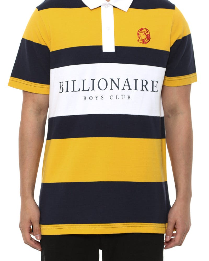 Polo Tee Yellow/navy