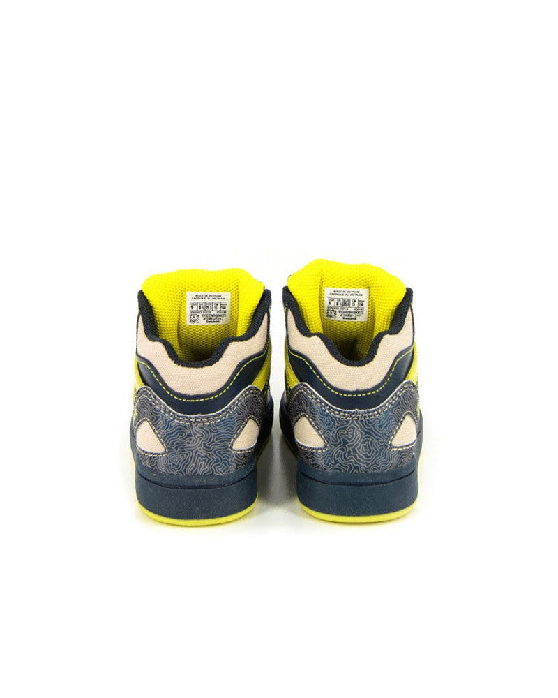 Versa Pump Omni Toddlers Navy/yellow/cre