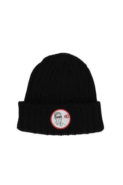 Laser Treatment Beanie Black