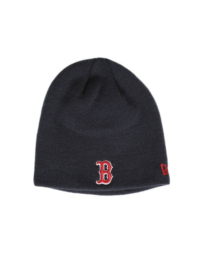 Red Sox Basic Knit 2 Beanie Navy/red/white