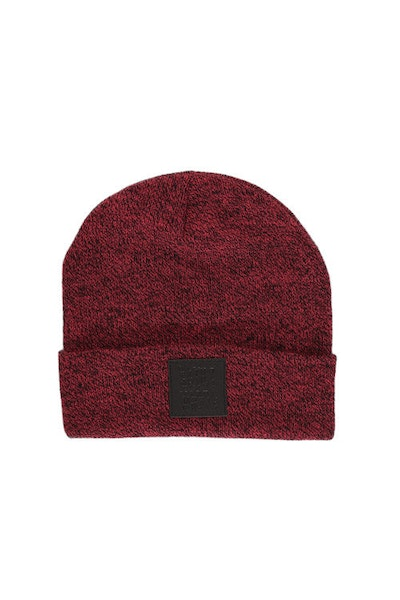 Misfit Beanie Red/black