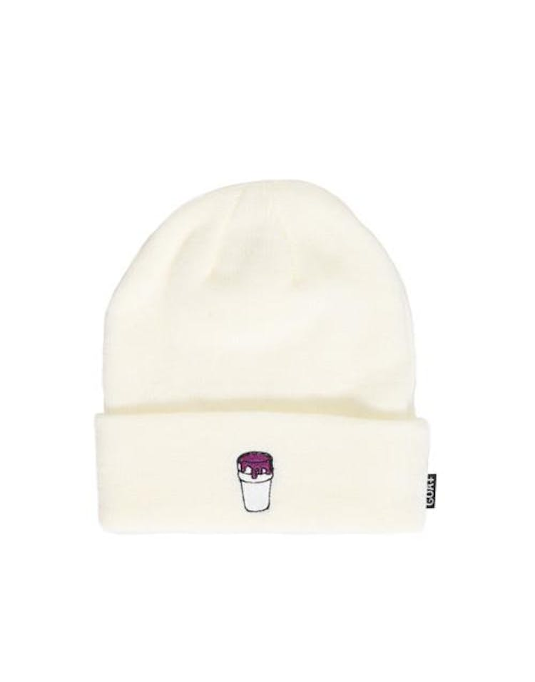 Lean Dreams Beanie White