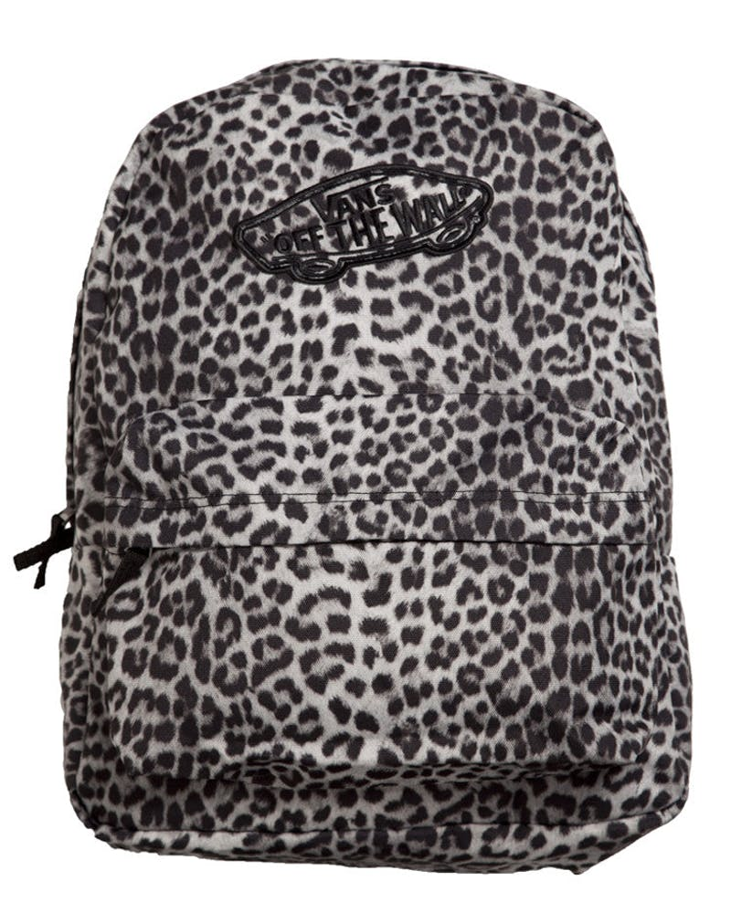Realm Backpack Snow Leopa Black/black