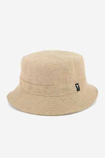 Paille Bucket Hat Tan