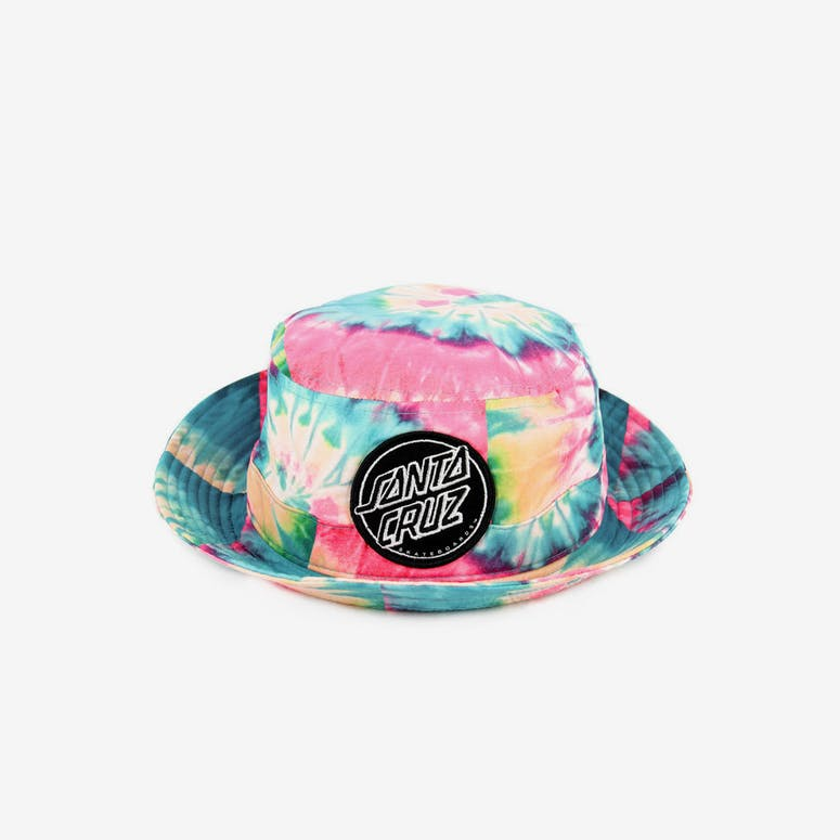 78598038235 Santa Cruz Dye Dot Bucket Hat Multi-coloured – Culture Kings