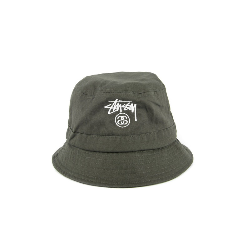 Solid Bucket Hat Military