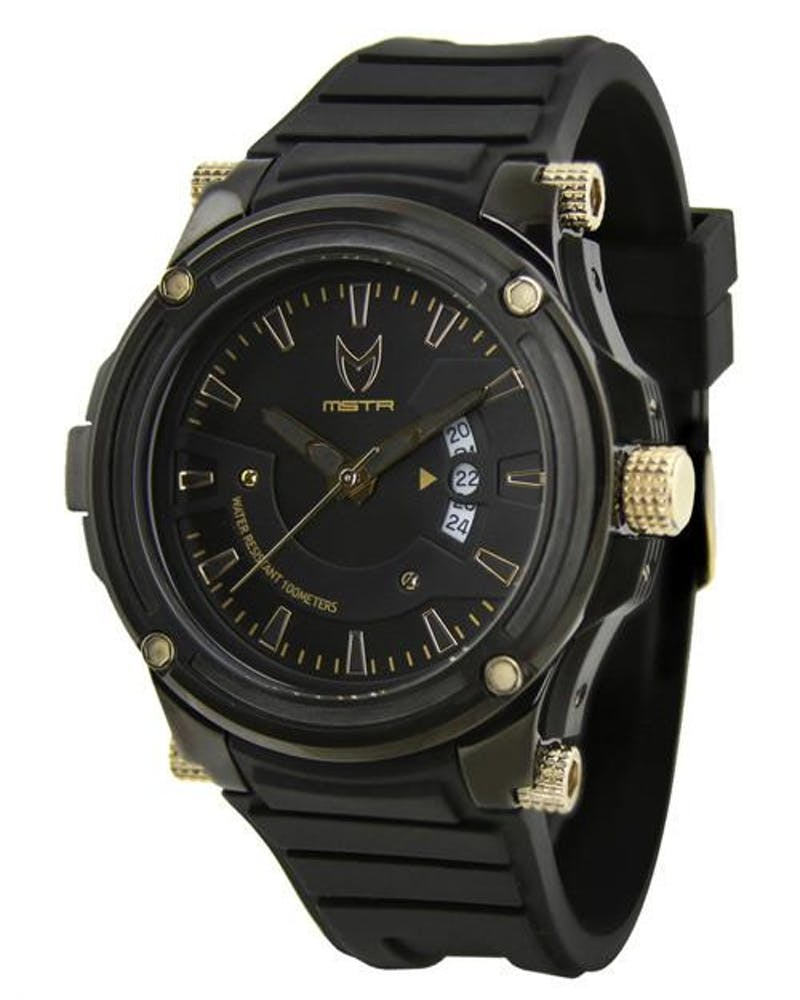 Prodigy SS Rubber Band 3 Black/gold/blac
