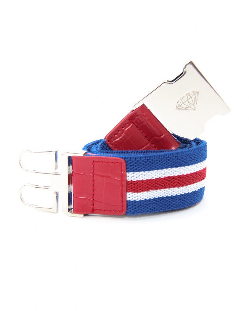Terry Belt Red/white/blue