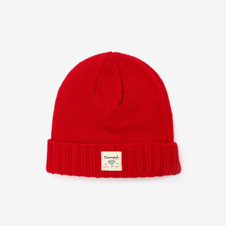 City Cuffed Beanie Red