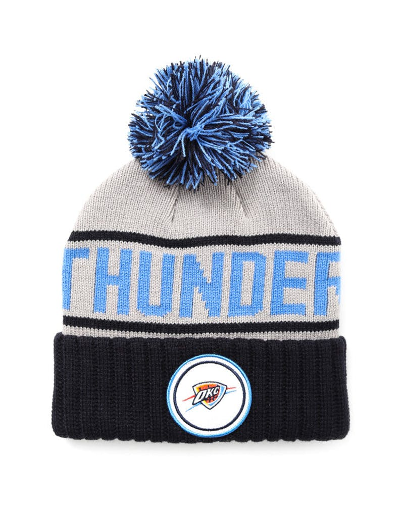 Thunder Cuffed Knit Bean Grey