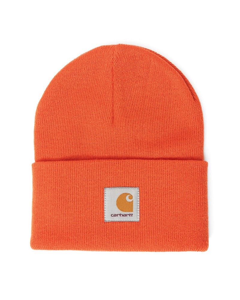 Acrylic Watch Hat 2 Orange