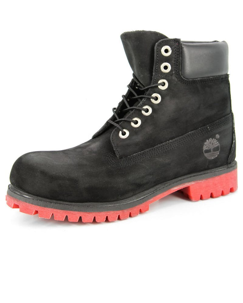Timberland Boots Black/red