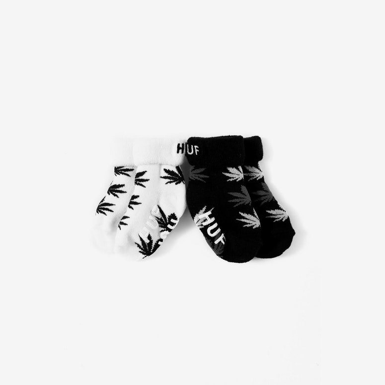 Seed Socks 2 Pack Black/charcoal/